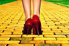 follow the yellow brick road shoes