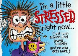 stressed beyond measure